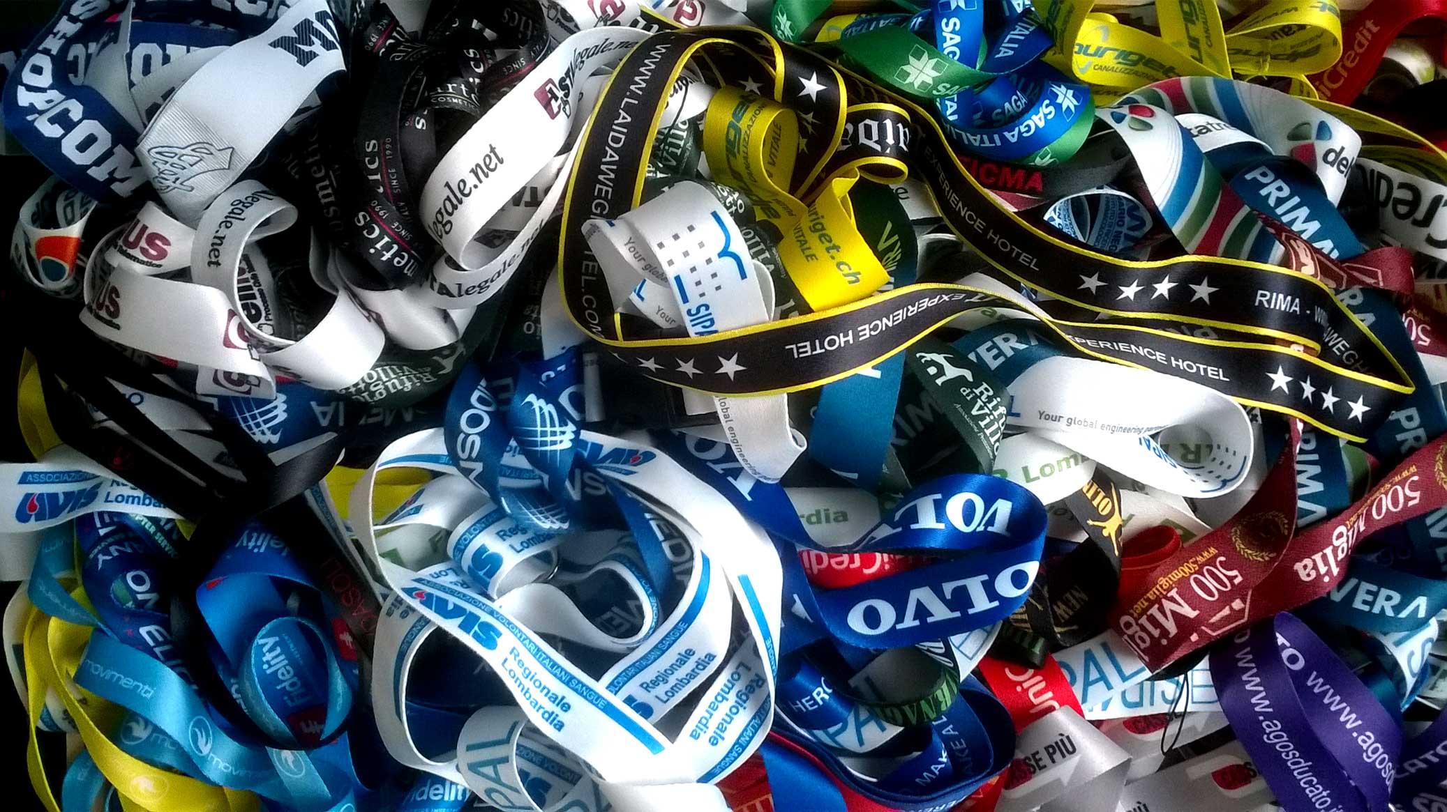 Collarini porta badge personalizzati